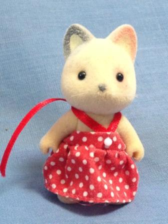 Sylvanian Whiskers Cat