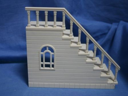 Sylvanian school stairs
