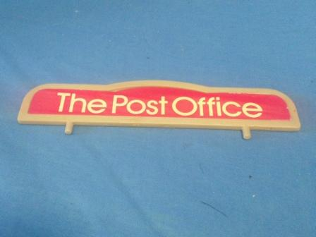Sylvanian Post Office Sign
